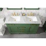 Malakai 54 Double Bathroom Vanity Set by Breakwater Bay