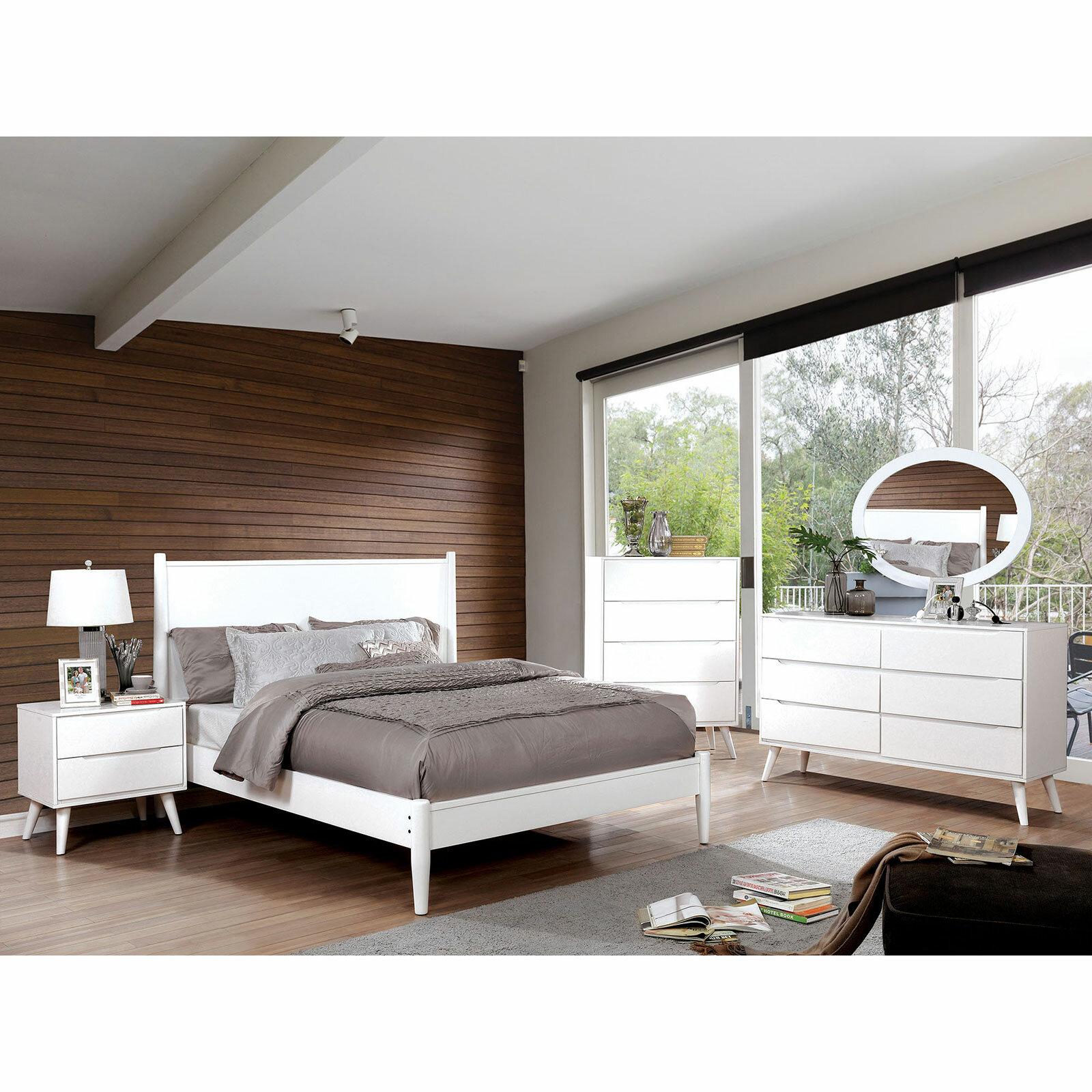George Oliver Chilhowee Platform Configurable Bedroom Set Wayfair