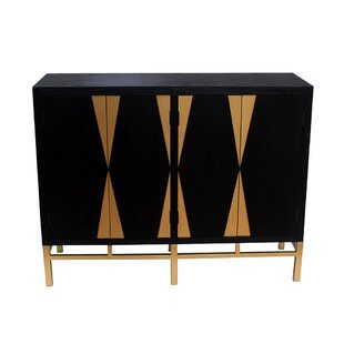 Milagros 4 Door Storage Accent Cabinet