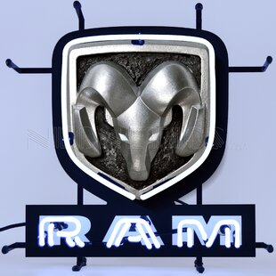 Ram Junior Wall Light By Neonetics