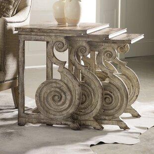 Hooker Furniture Rhapsody 3 Piece Nesting Tables