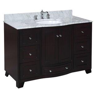 Palazzo 48 Single Bathroom Vanity Set by Kitchen Bath Collection