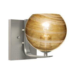 Madsen 1-Light Bath Sconce by World Menagerie