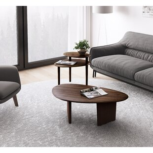 BDI Orlo 2 Piece Coffee Table Set