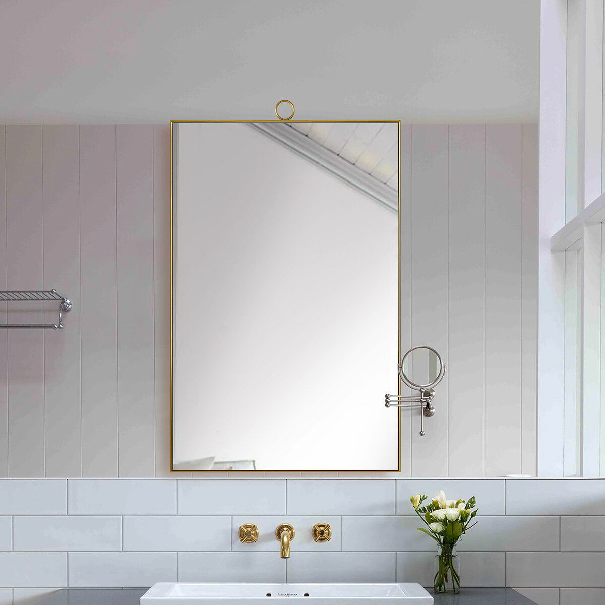 Bathroom Vanity Brass Mirrors You Ll Love In 2021 Wayfair