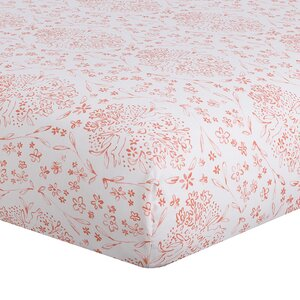 Nectar Bunnies Fitted Crib Sheet
