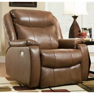 Hercules Leather Power Wall Hugger Recliner