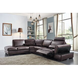 Clearance Zed Reclining Sectional by Orren Ellis Reviews (2019) & Buyer's Guide