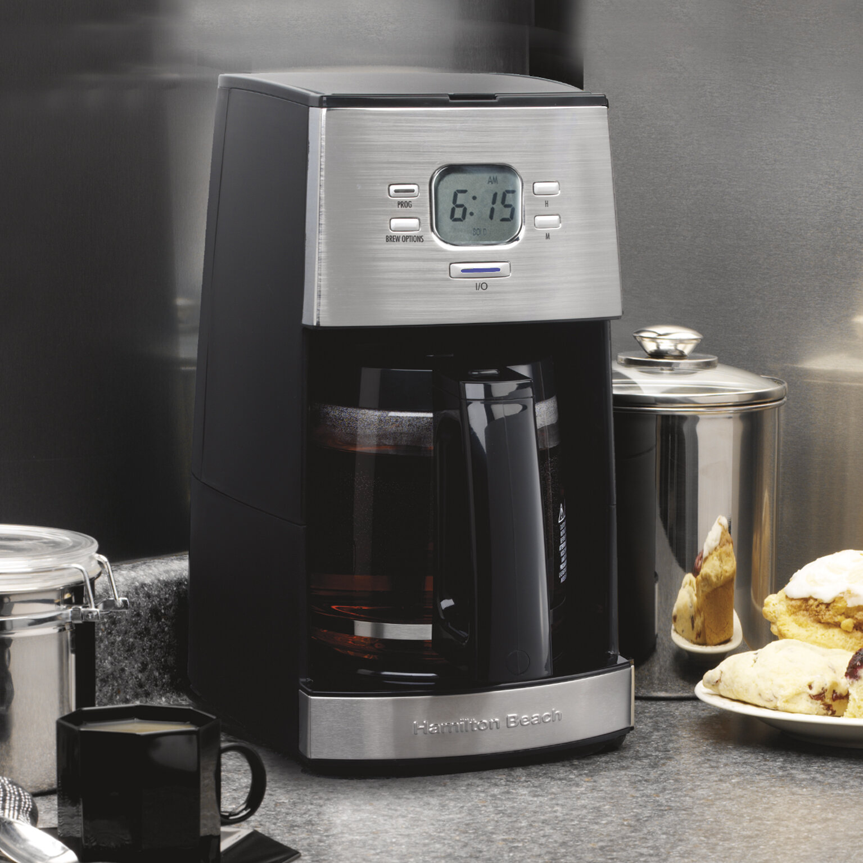 Hamilton Beach 12 Cup Programmable Coffee Maker Reviews Wayfair