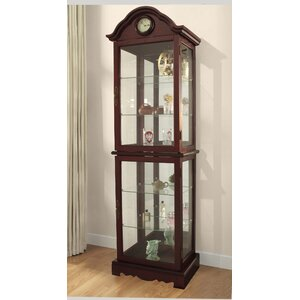 Inglaterra Lighted Curio Cabinet