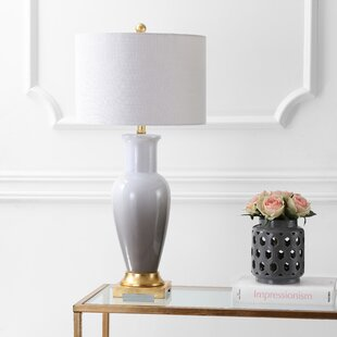 Check Prices Merve Ceramic 32 Table Lamp By Highland Dunes