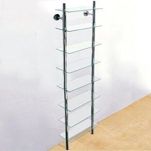 Multimedia Wall Mounted Open DVD/CD Shelf By Rebrilliant