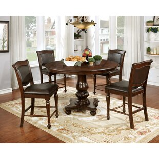 Ripple Traditional 5 Piece Dining Table Set  sc 1 st  Wayfair & 6 Piece Round Kitchen u0026 Dining Room Sets Youu0027ll Love | Wayfair
