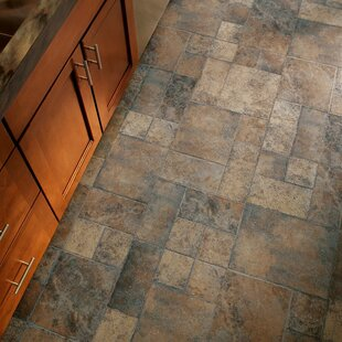 Stones And Ceramics 15 94 X 47 75 8 3mm Tile Laminate Flooring In Weathered Way Euro Terracotta