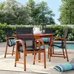 Brighton 5 Piece Dining Set by Sol 72 Outdoor #2