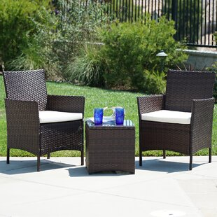 Ebern Designs Kendal 3 Piece Sofa Set with Cushions
