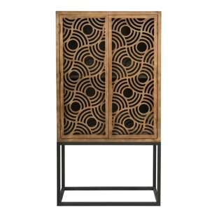 Aldama 2 Door Accent Cabinet by Bungalow Rose