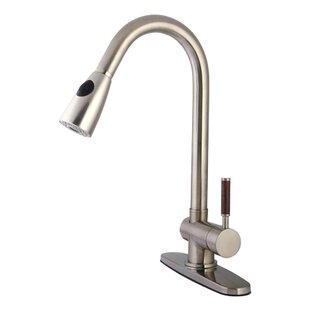 Kingston Brass Wilshire Pull Down Single Handle Kitchen Faucet