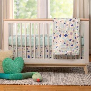 Fleeting Flora 6 Piece Crib Bedding Set
