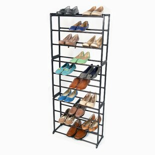 Find the perfect Standing 10-Tier 30 Pair Shoe Rack By Richards Homewares