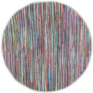 Myah Hand-Woven Gray Area Rug by Mistana