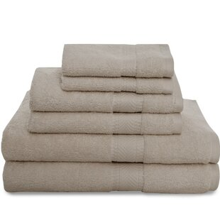 Montgomery 6 Piece 100% Cotton Towel Set