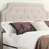 Monett Upholstered Panel Headboard by House of Hampton®