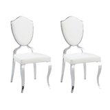 Letty Upholstered Dining Chair (Set of 2) by Mercer41