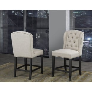 Mcnamara 24 Bar Stool (Set of 2) Alcott Hill