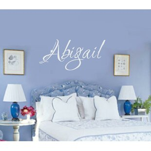 Personalized Name Wall Decal & Personalized Name Decals | Wayfair