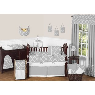 Find the perfect Trellis 9 Piece Crib Bedding Set By Sweet Jojo Designs