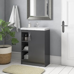 Maddalena 605mm Free-standing Vanity Unit By Hudson Reed