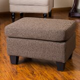 Lampkins 24 Rectangle Standard Ottoman by Andover Mills