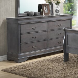 Labrecque 6 Drawer Double Dresser by Laurel Foundry Modern Farmhouse