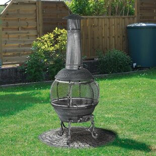 Free S&H Jacksonville Cast Iron Chiminea