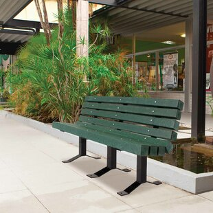 UltraSite Recycled Plastic Park Bench