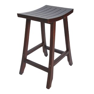 Satori Teak 30' Patio Bar Stool by Decoteak
