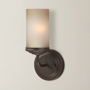 Compare prices Doris 1-Light Wall Sconce By Gracie Oaks