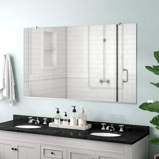 Lanphear Flat Bathroom/Vanity Mirror By Latitude Run