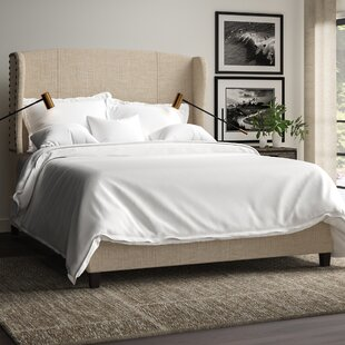 Progreso Queen Upholstered Platform Bed by Greyleigh