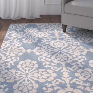 Jaquelin Light Blue/Beige Indoor/Outdoor Area Rug