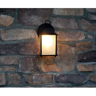 Crochet LED Outdoor Flush Mount by Charlton Home