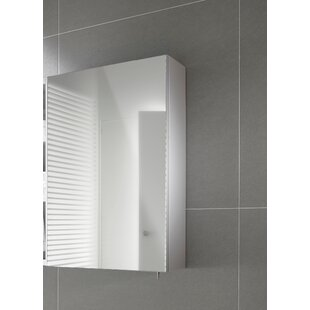 Luna 50cm X 60cm Surface Mount Mirror Cabinet By Roca
