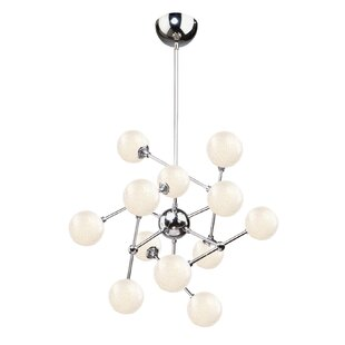 Artcraft Lighting Odyssey 12-Light LED Sputnik Chandelier