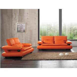 Noci Design 2 Piece Living Room Set