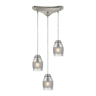 Rachelle 3-Light Pendant by Orren Ellis