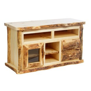 Buy luxury Aspen Heirloom TV Stand for TVs up to 60 by Mountain Woods Furniture Reviews (2019) & Buyer's Guide