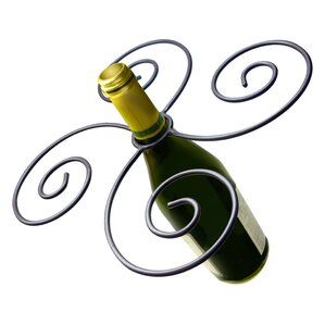 Swirl 1 Bottle Tabletop Wine Rack by Epic..