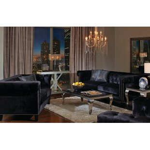 Affordable Reinaldo 3 Piece Living Room Set by Everly Quinn Reviews (2019) & Buyer's Guide
