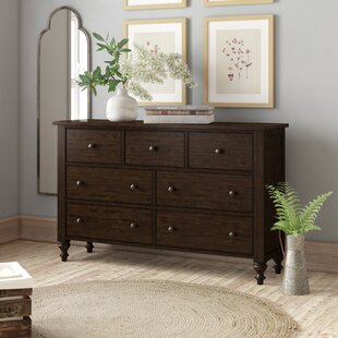 Cambra 7 Drawer Double Dresser